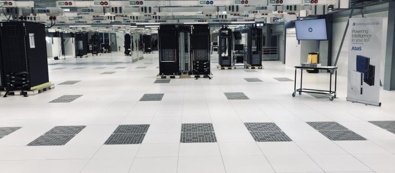 Construction du Centre Mondial Supercalculateurs ATOS à ANGERS (49)